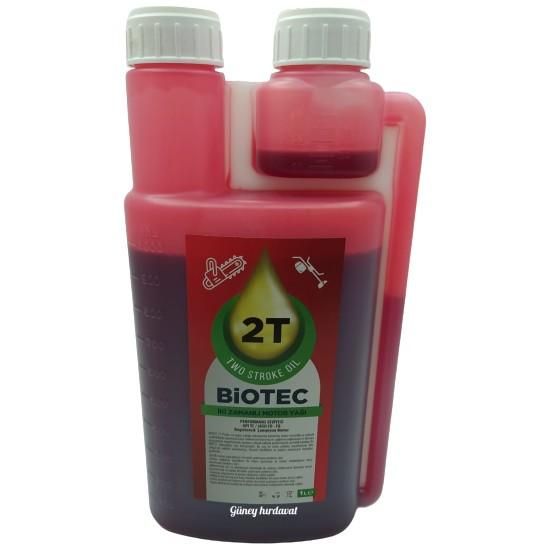 Biotech 2T Bitkisel Motor Benzin Yağı