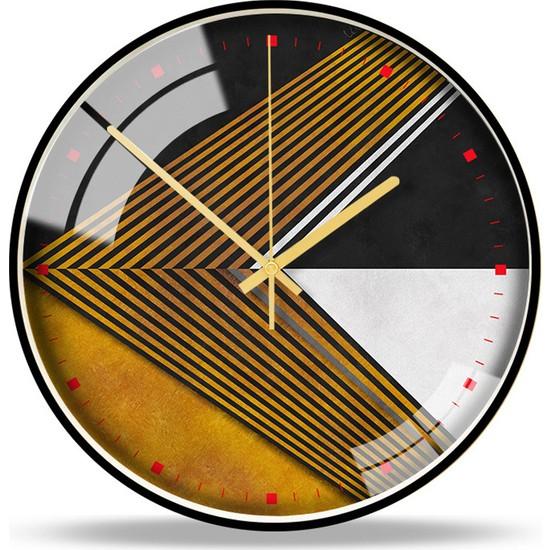 Yukka Modern Tasarımlı Duvar Saati