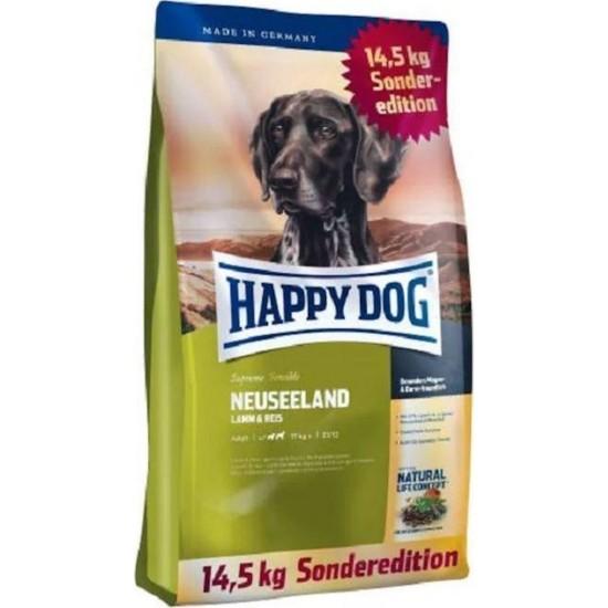 Happy Dog Neuseeland Kuzu Etli Yetişkin Köpek Maması 12,5 kg + 2 kg