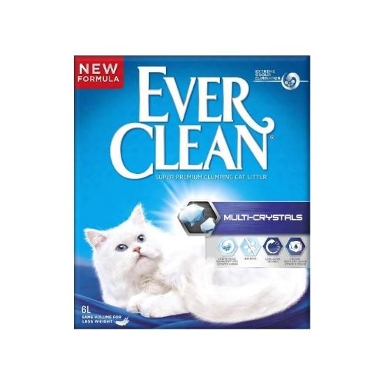 Ever Clean Multi Kristal Kokusuz Doğal Kedi Kumu 6 L 2 Adet