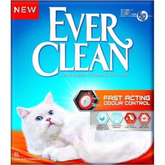 Ever Clean Fast Acting 6 Lt 2 Adet