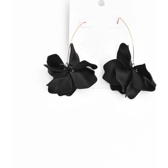 La'dess Accessories & Collections Zara Model Siyah Küpe
