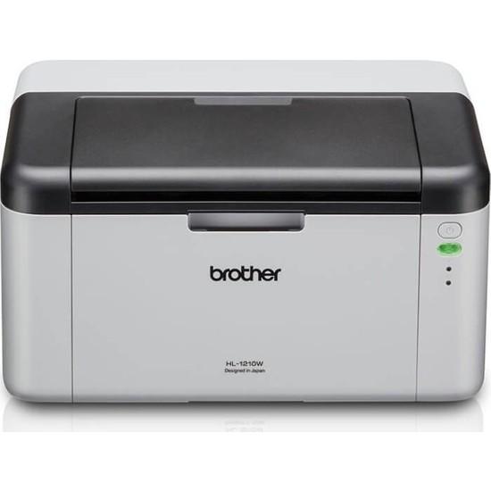 Brother HL-1211W-2T Mono Lazer USB/Wi-Fi A4 Yazıcı - 2 Tam Dolu Tonerli