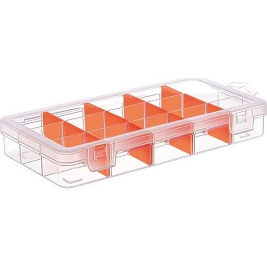 Hipaş Plastik – 15 Bölmeli Kapaklı Organizer Kutu – TK-2094