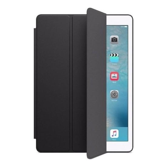 """Fibaks Apple iPad Mini 5. Nesil (2017) 7.9"""" Kılıf + Kalem Uyku Modlu Smart Cover Katlanabilir Standlı Kapaklı Tablet Kılıfı Siyah"""