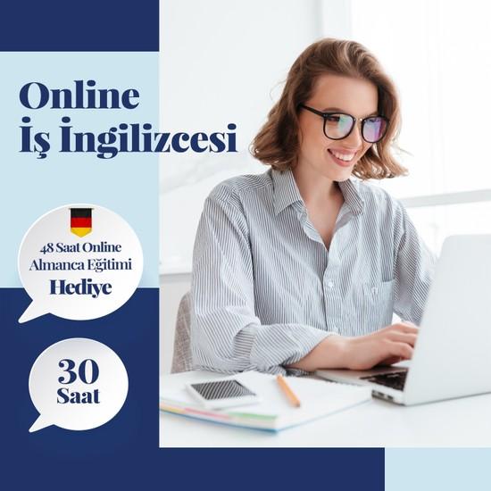 Online Iş Ingilizcesi Eğitimi - Canlı Bire Bir Özel Ders -30 Saat