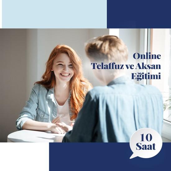 Amerikan Dili Edebiyatı Yabancı Dil Kursları Online Telaffuz ve Aksan Eğitimi - 10 Saat
