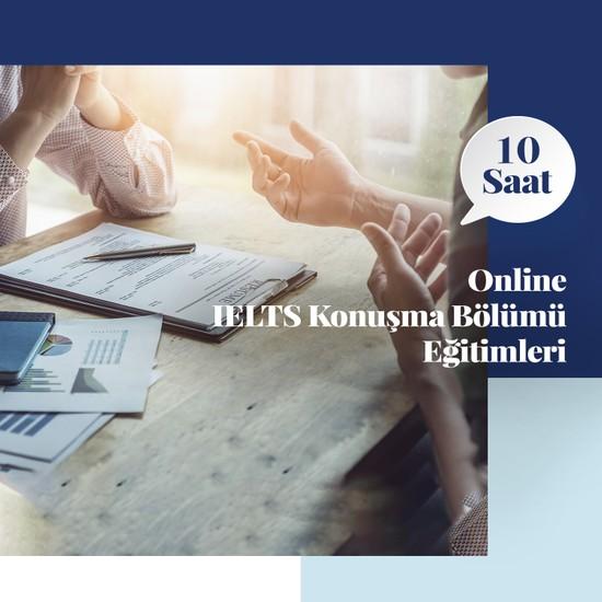 Amerikan Dili Edebiyatı Yabancı Dil Kursları Ielts Online Konuşma Bölümü Eğitimleri - 10 Saat