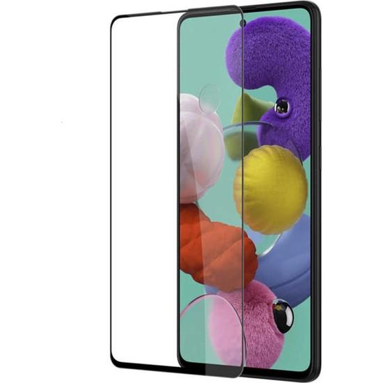 AZR Samsung Galaxy A71 5D Tam Kaplama Ekran Koruyucu