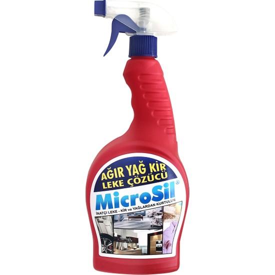 Microsil Ağır Yağ Kir Leke Çıkarıçı 750 ml