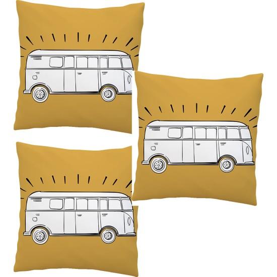 Elele Home Dekoratif Yastık Kırlent Kılıfı-EYS-5-3-SET