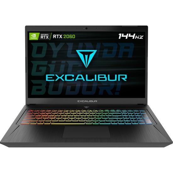 "Casper Excalibur G780.1075-BU60X Intel Core i7 10750H 16GB 256GB M2 SSD RTX2060 FreeDos 17.3"" FHD Taşınabilir Bilgisayar"