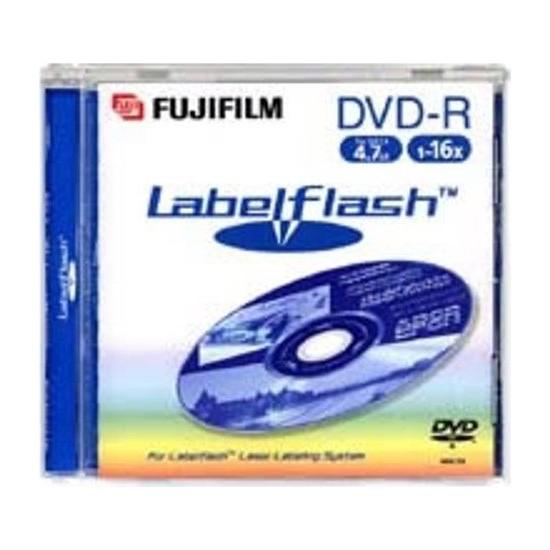 Fujifilm DVD -R Labelflash Yazdırılabilir Kaydedilebilir Disk 5'li