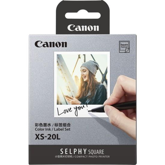 Canon Qx10 PrintMedia Color ink/Label Set Xs-20L