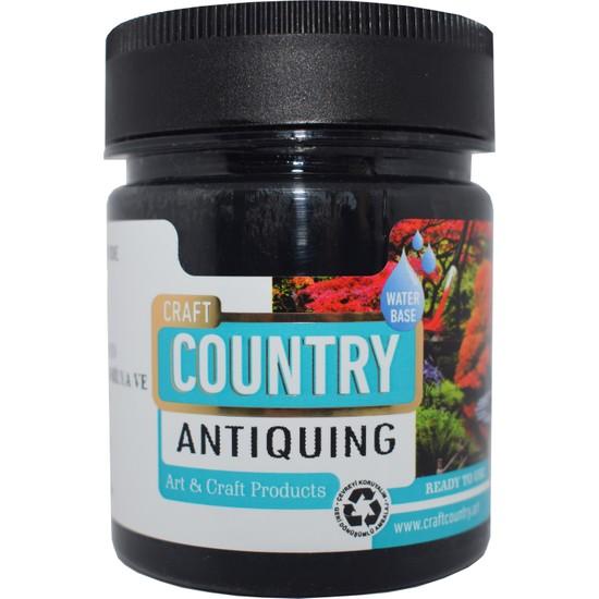 Craft Country Antiquing Hobi Boyası 2500 cc 7003 Siyah