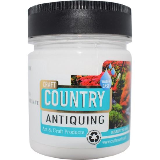 Craft Country Antiquing Hobi Boyası 120 cc 7007 Beyaz