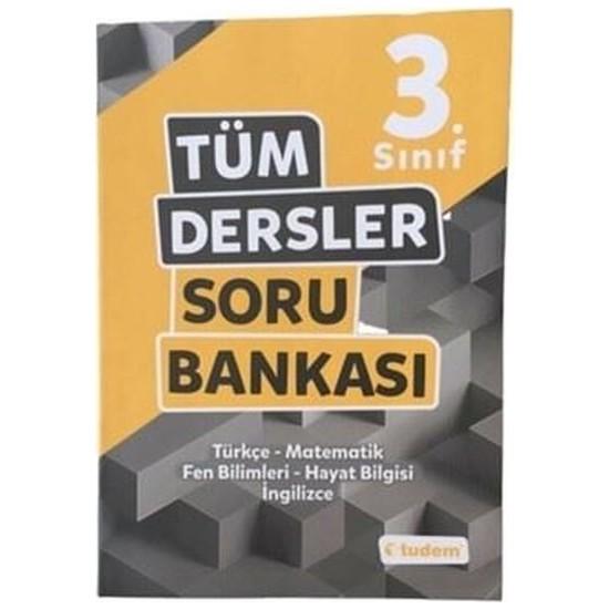 Tudem Yayınları 3.sınıf Tüm Dersler Soru Bankası