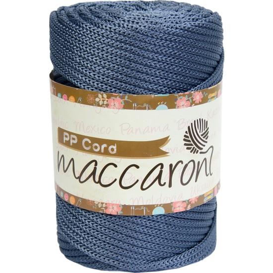 Maccaroni Pp Polyester Cord Makrome İpi 500 gr 5 mm