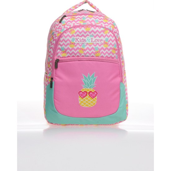Kaukko Kids Love Ananas Sırt Çantası Rubber L5025