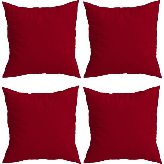 Elele Home Dekoratif Yastık Kırlent Kılıfı-YS1722018-4-SET
