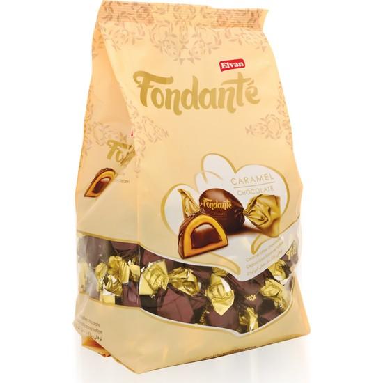 Elvan Fondante Caramel Toffee 1000 Gr. (1 Poşet)