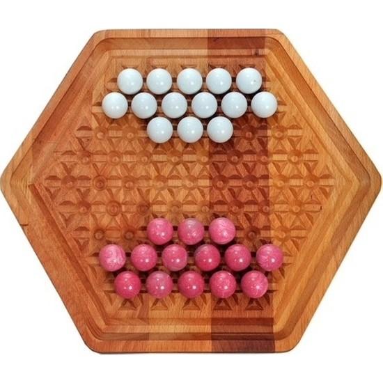 Şahcan Marble Abalone Zeka Oyunu