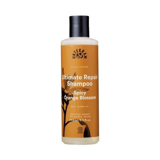 Urtekram Organik Rise & Shine Şampuan (Baharatlı Portakal Çiçeği, Onarıcı) 250ML