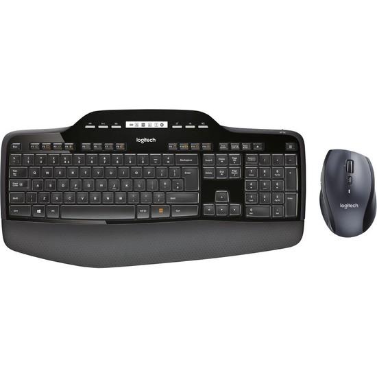 Logitech MK710 Kablosuz Klavye & Mouse Seti-Siyah