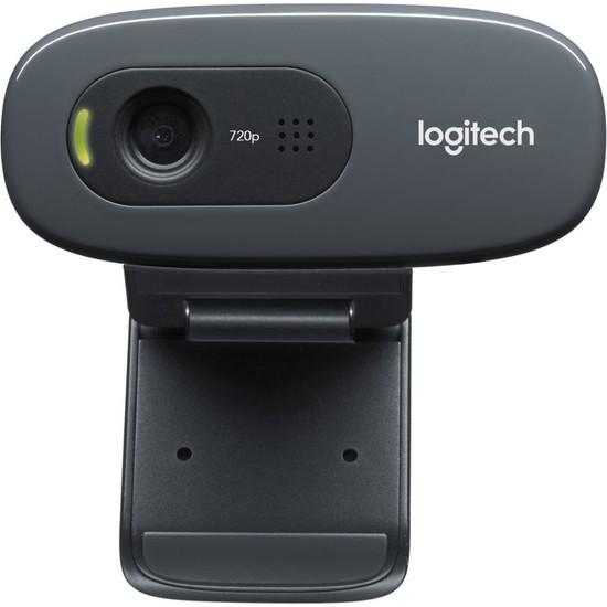 Logitech C270 HD Webcam-Siyah