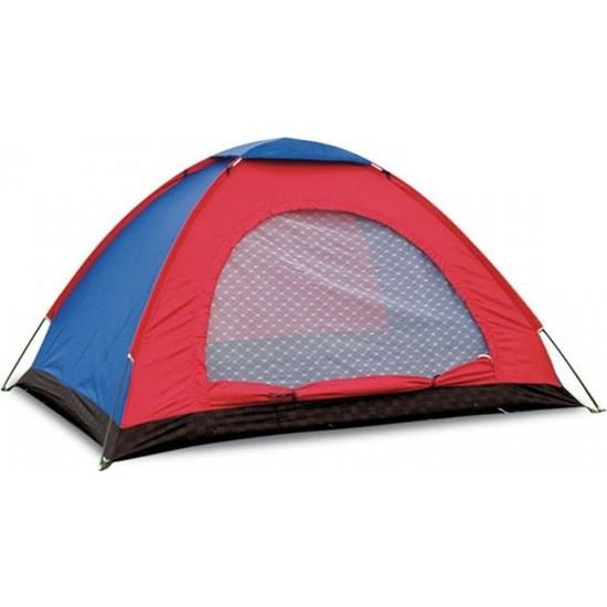 Sezy 4 Kişilik Su Geçirmez Çantalı Kamp Çadırı 200 x 200 x 135 cm