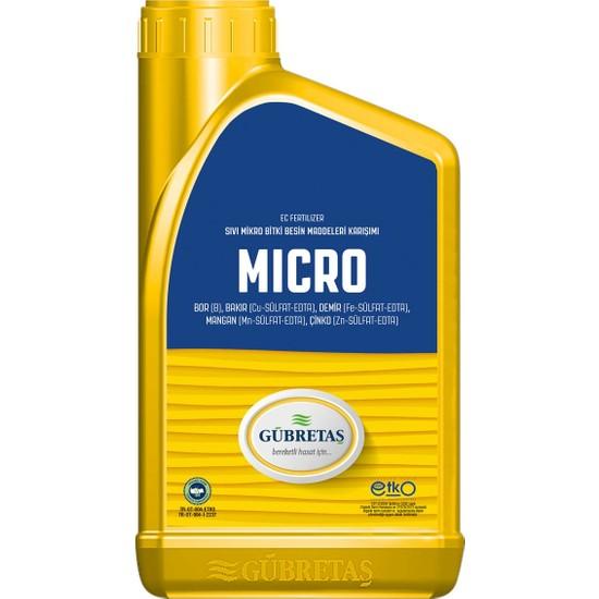 Gübretaş Micro Sıvı Yaprak Gübresi 1 lt