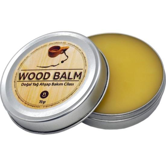 wood Balm Doğal Yağ Ahşap Kuksa Bakım Kremi Cilası 70 gr