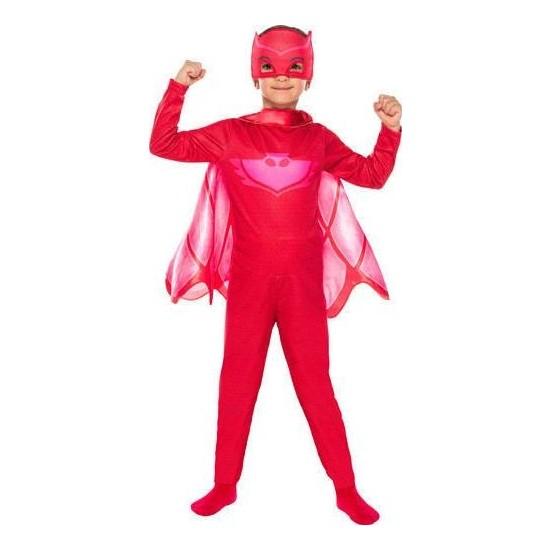 Buda Bizde Pijamaskeliler Kostümü Pjamasks Baykuş Kız Kostüm