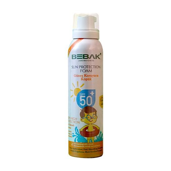 Bebak Bebek Güneş Köpüğü 50+ Spf 150 ml