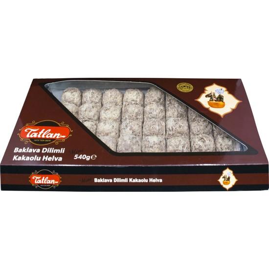 Tatlan Mini Baklava Dilimi Kakaolu Tahin Helvası 540 gr