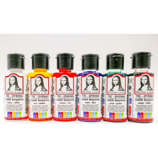 Mona Lisa Batik Boyama Seti 6'lı