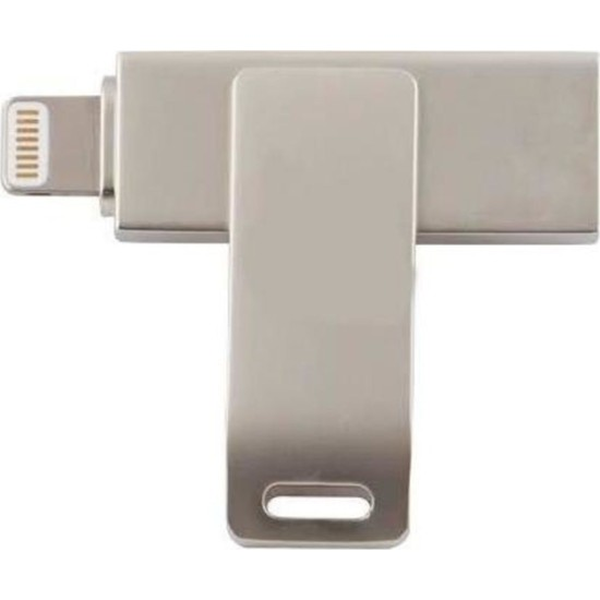 Powerway 64GB Iphone Otg Metal Flash Bellek Usb2.0