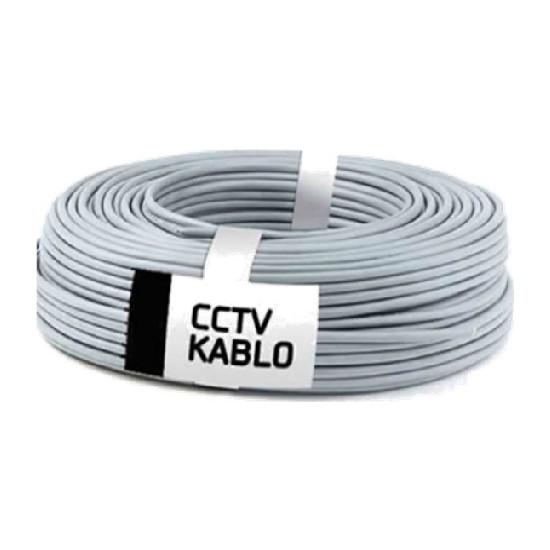 Oem Cctv Kablo 2+1 (0,22) - 100M