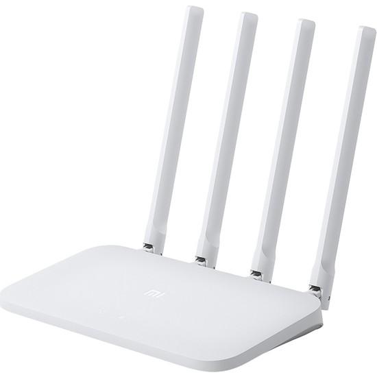 Xiaomi DVB4231GL Mi Wi-Fi 300Mbps 2.4G High-Speed 4C Router - Beyaz