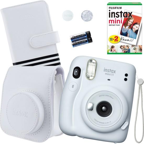 Fujifilm Instax Mini 11 Beyaz Fotoğraf Makinesi Seti 1