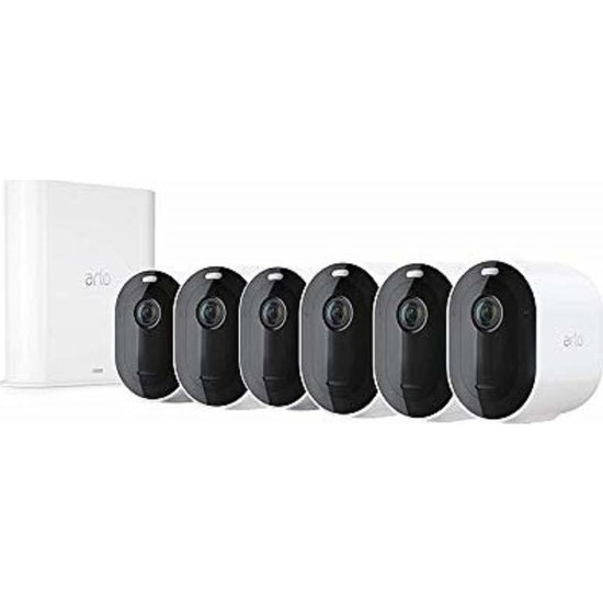Arlo Pro 3 - Kablosuz Güvenlik 6 Kamera Sistemi