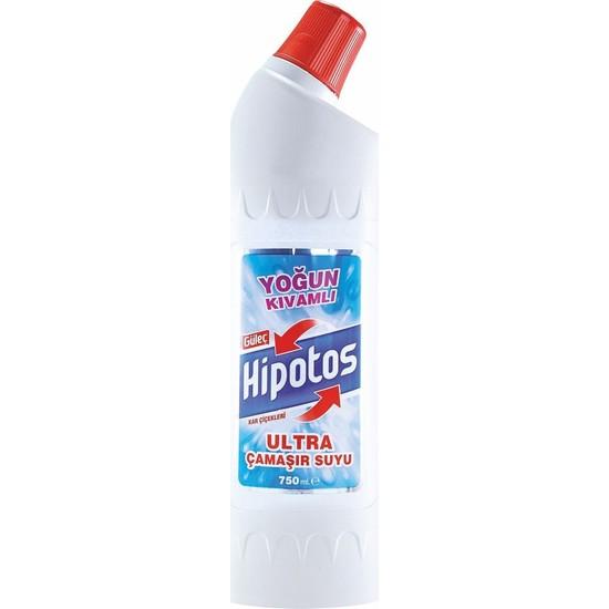Güleç Hipotos Ultra Çamaşır Suyu 750 ml Beyaz