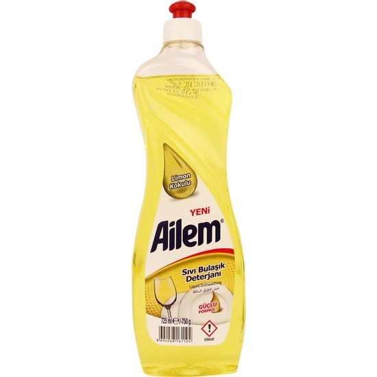 Güleç Ailem Sıvı Bulaşık Deterjanı 750 ml Limon