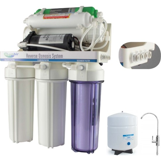 Aquabir Su Arıtma Cihazı Aquabir 6A Pompalı