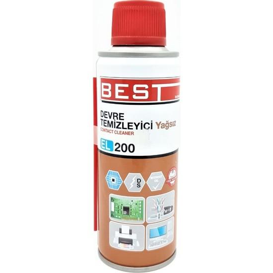 Best Devre Temizleyici Yağsız 200Ml/Contact Cleaner El 200