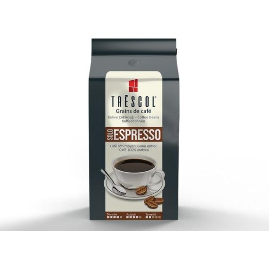 Trescol Espresso Kağıt Filtre için Öğütülmüş Kahve 250 gr Orta Kağıt Filtre