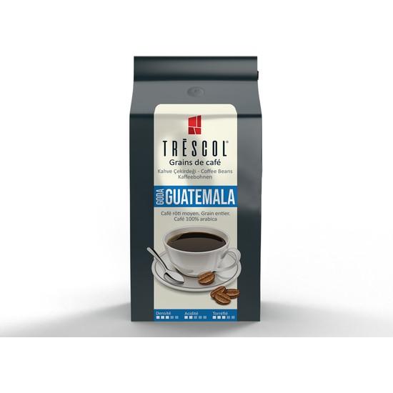 Trescol Guatemala Çekirdek Kahve 250 gr Öğütülmemiş Çekirdek Öğütülmemiş