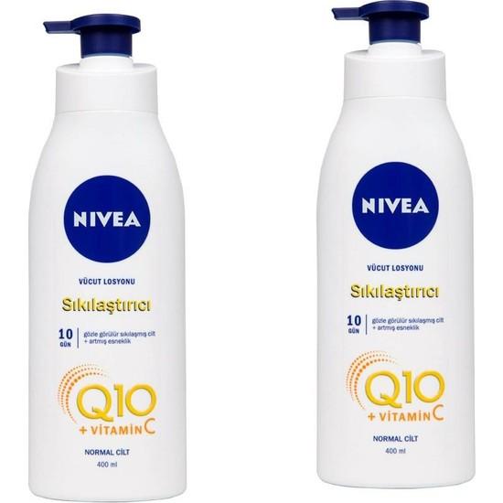 Nivea 2'li Q10 Sıkılaştırıcı Vücut Losyonu 400 ml