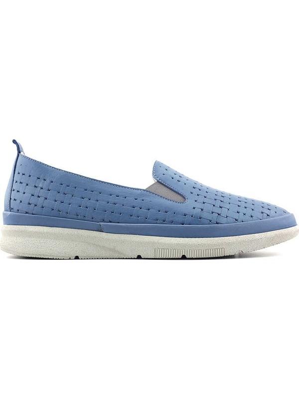 Evida 2689 Deri Kadın Ayakkabı