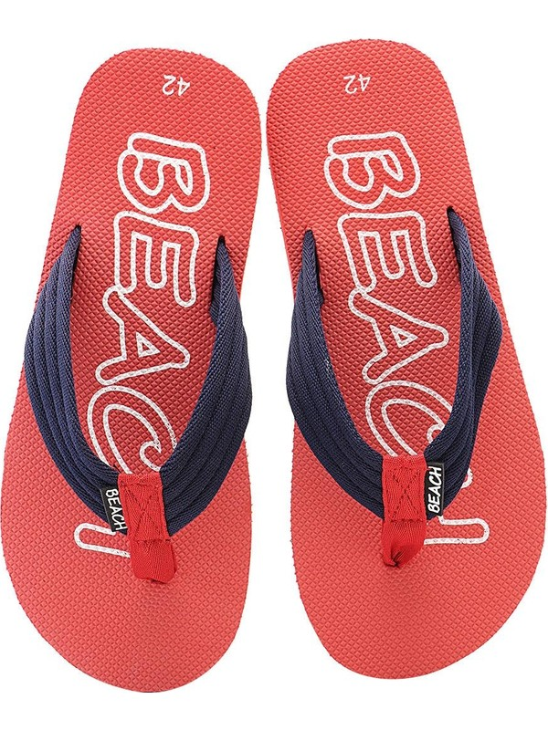 Ayakkabıvakti Havuz Plaj Kaymaz Erkek Parmak Arası Bez Terlik